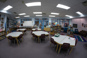 The Commons has a variety of seating arrangements to suit each activity.